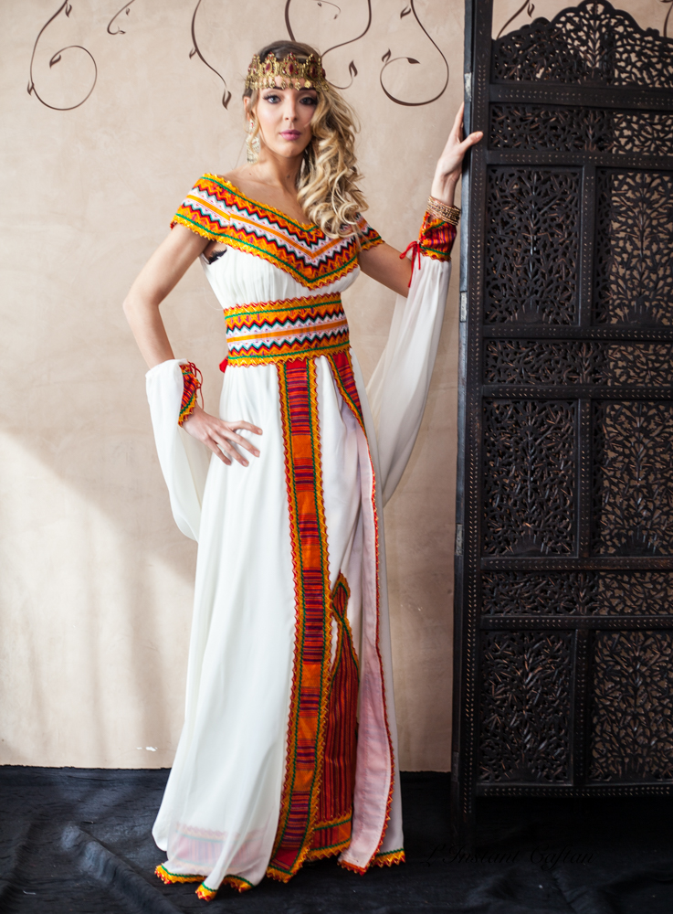 Robe cocktail kabyle
